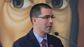 Venezuelan Foreign Minister Jorge Arreaza on Saturday slammed US Pr...