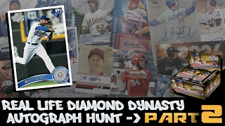 EXPOSED!! BIGGEST L EVER!! AUTOGRAPH HUNT BOX 1: PART 2! REAL LIFE DIAMOND DYNASTY! MLB 16 THE SHOW!