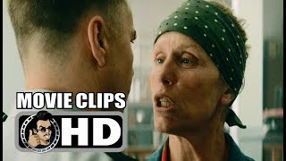THREE BILLBOARDS OUTSIDE EBBING, MISSOURI -4 Movie Clips + Trailer (2017) Frances McDormand Movie HD