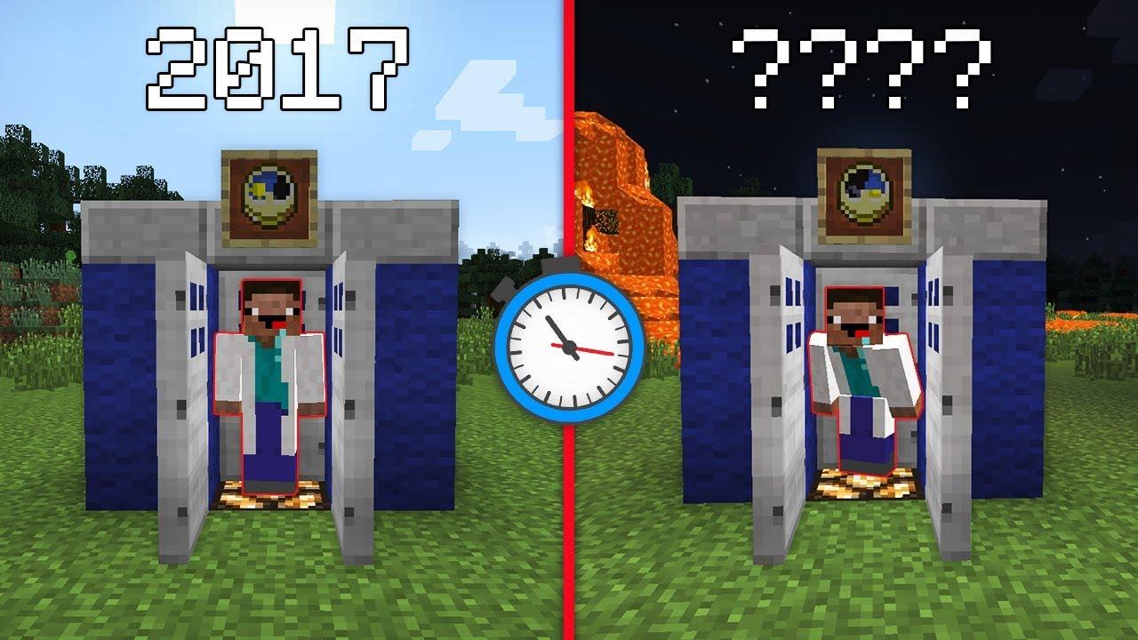 как сделать в майнкрафте машину времени без модов #2