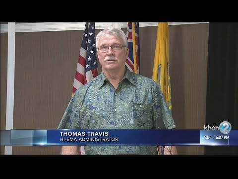 Hawaii Emergency Management Agency announces new administrator