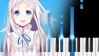 AnoHana ED - Secret Base ~Kimi ga Kureta Mono~ - Piano Tutorial