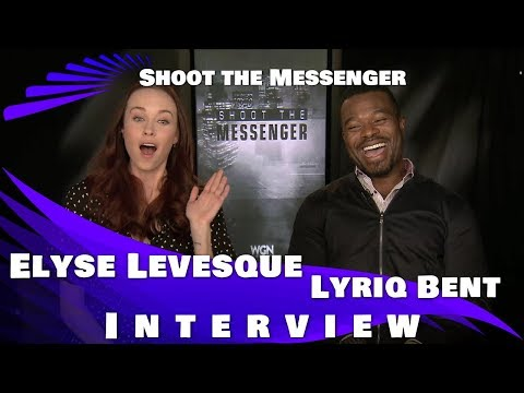 SHOOT THE MESSENGER   Elyse Levesque and Lyriq Bent