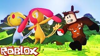 CATCHING LEGENDARY SEA POKEMON IN ROBLOX! (Roblox Pokemon Go)