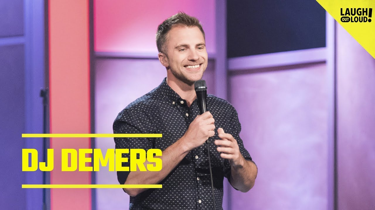 Comic DJ Demers Talks Hearing Aids And Missing The Good Stuff