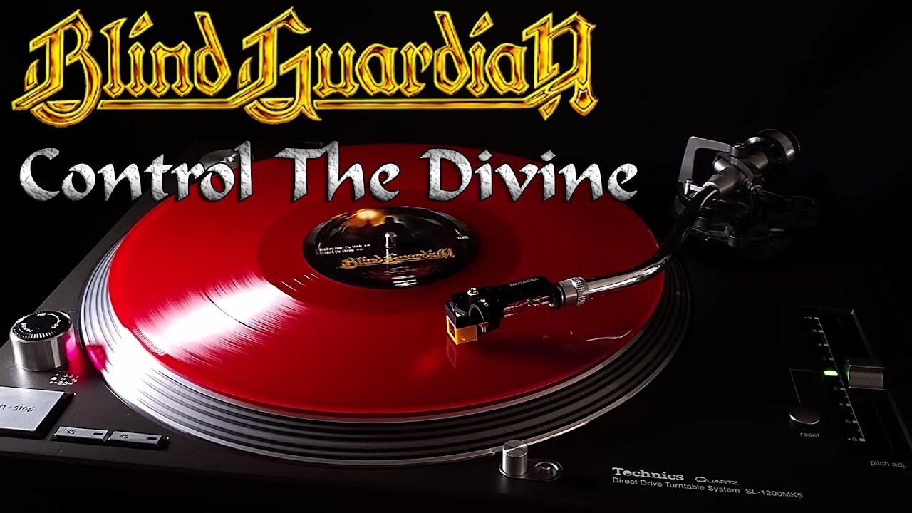 Blind Guardian - Control The Divine - Red Translucent Vinyl 4 LP Boxset