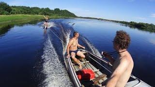 видео Как сделать водные лыжи своими руками