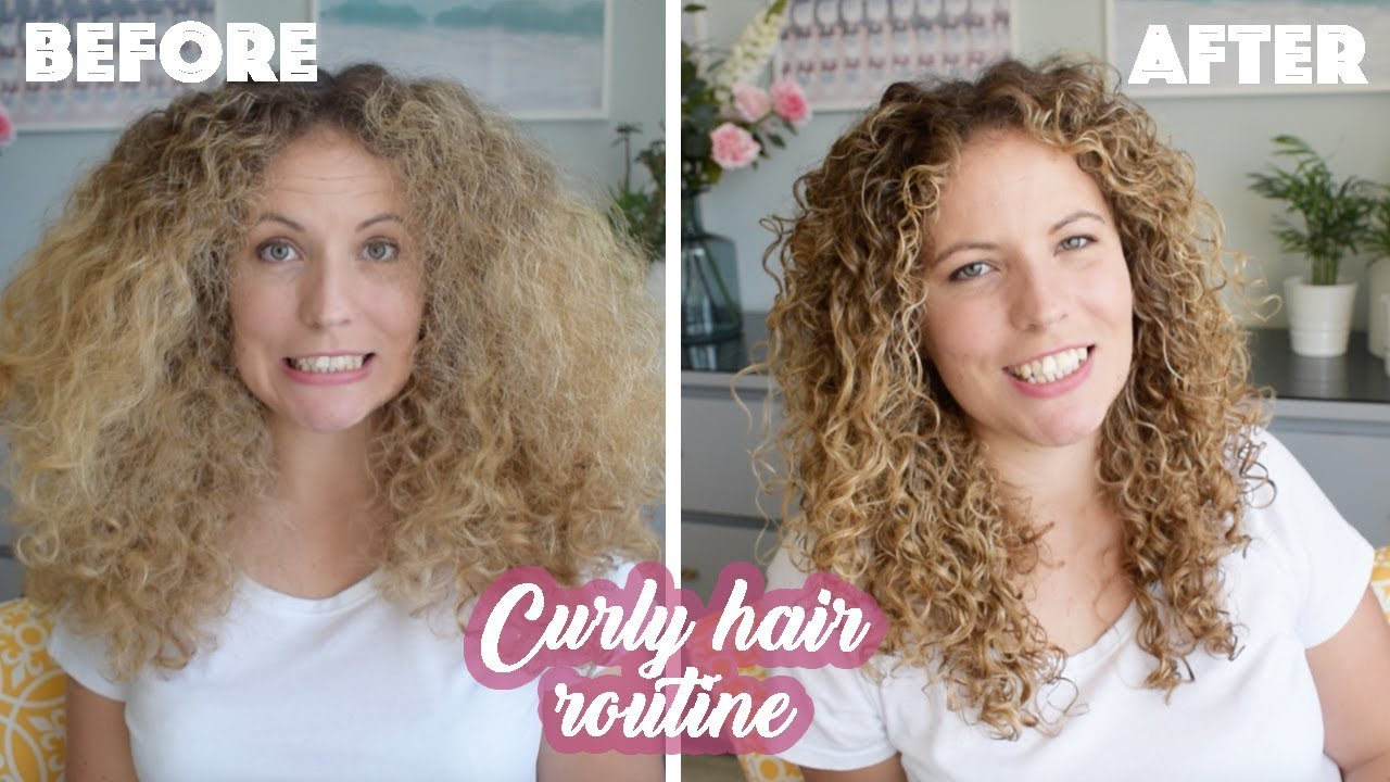 White Girl Curly Hair Routine