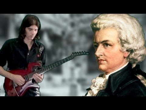 Mozart Sonata 16 C Major K 545 - Dan Mumm - Classical Metal Guitar