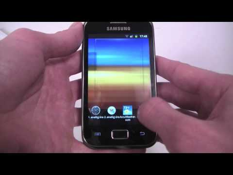 Samsung Galaxy Ace Plus hands-on