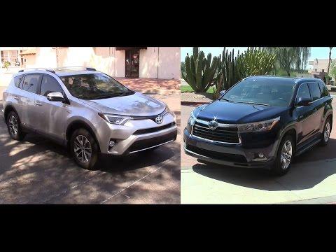 2016 Toyota Rav4 Hybrid & Toyota Highlander Hybrid
