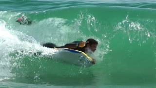 BodyBoarding Huntington Beach
