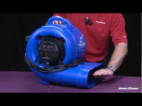 Dry Air Typhoon Air Mover | Jon-Don Video