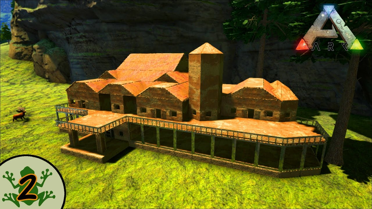 how to build a second floor in ark