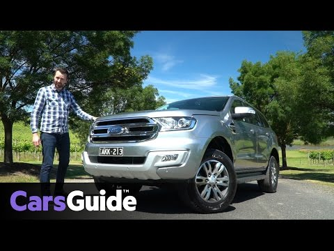Ford Everest RWD 2017 review | first drive video