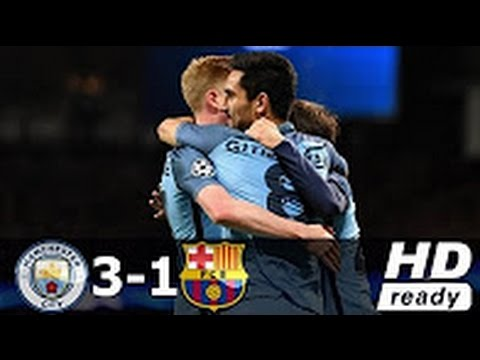 Manchester City vs Barcelona 3-1 All Goals & Extended Highlights Champions League 01 11 2016