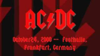 AC/DC - Safe In New York City - Live [Frankfurt 2000]