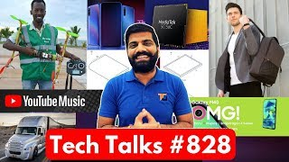 Tech Talks #828 Realme X India Launch, MediaTek 5G, Folding iPhones, YouTube Student Discount