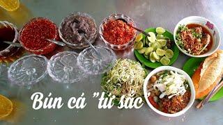 Food For Good #407: Nha Trang | Ai mà cầm lòng cho nổi với 4 thứ xốt này của bún cá Bà Loan !