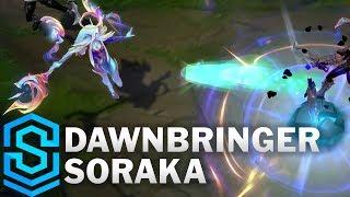 Dawnbringer Soraka Skin Spotlight - Pre-Release - League of Legends