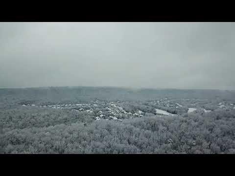 Snowpocalypse 2017 From Lake Purdy In Leeds, AL