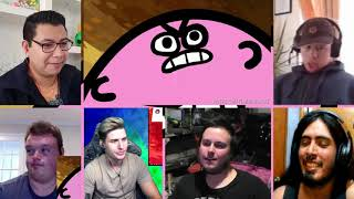 Something About Kirby & The Amazing Mirror ANIMATED [REACTION MASH-UP]#994