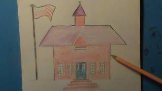 Simple Drawings School 1