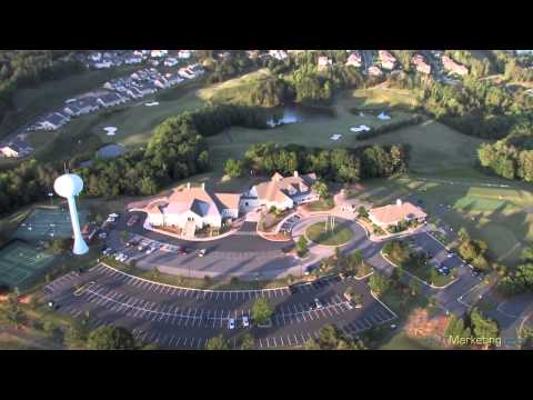Aerial Video Footage of Fort Mill & Tega Cay, SC