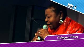 Calypso Rose with Kobo Town, July 8 2015