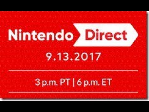 Nintendo Direct - Live Stream & Discussion Afterwards