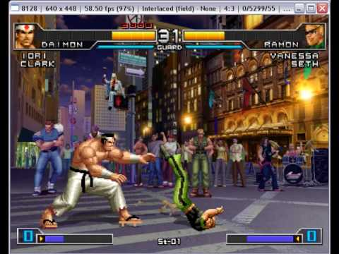 Pcsx2 0 9 6 The King Of Fighters 2002 Unlimited Match