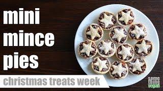 mini mince pies Something Vegan Christmas Treats Week