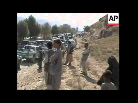 Bomb attack on Karzai's running mate, scene and reax