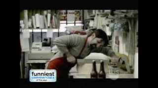 The funniest commercials of the year 2008