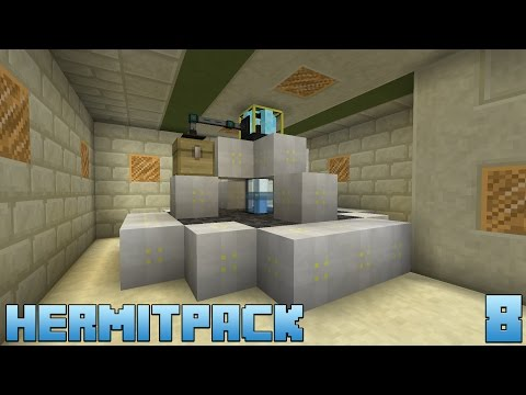 HermitPack :: E08 - Void Ore Miner & Solar Panel Upgrades