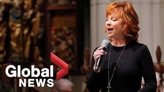 Bush funeral: Reba McEntire performs 'The Lord's Prayer'