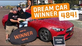 Winner! Week 29 2019 (15th July - 21st July) - Carlton Johnson-Vaughton - Mercedes CLA35 AMG + £20k