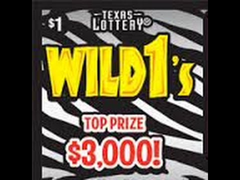 FULL PACK!  150X $1 WILD 1's $150 Of Tickets!!!! Texas Lottery Scratch Off Tickets
