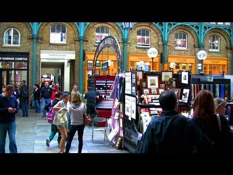 Covent Garden - London Landmarks - High Definition (HD) YouTube Video