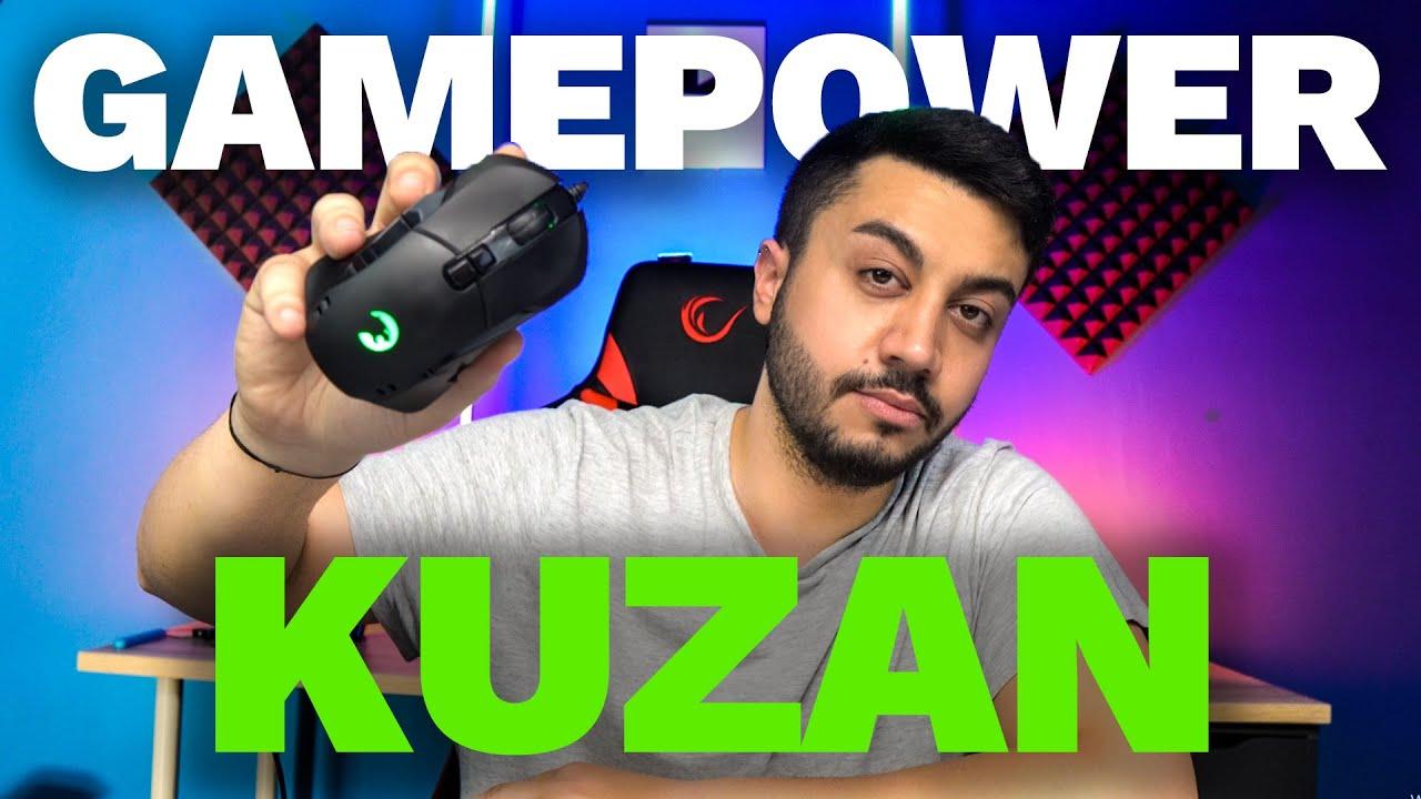 UYGUN FİYATLI PROFESYONEL MODÜLER MOUSE - Gamepower Kuzan RGB Gaming Mouse
