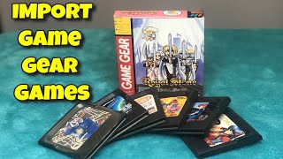 Import Game Game Gear Games You May Have Not Played