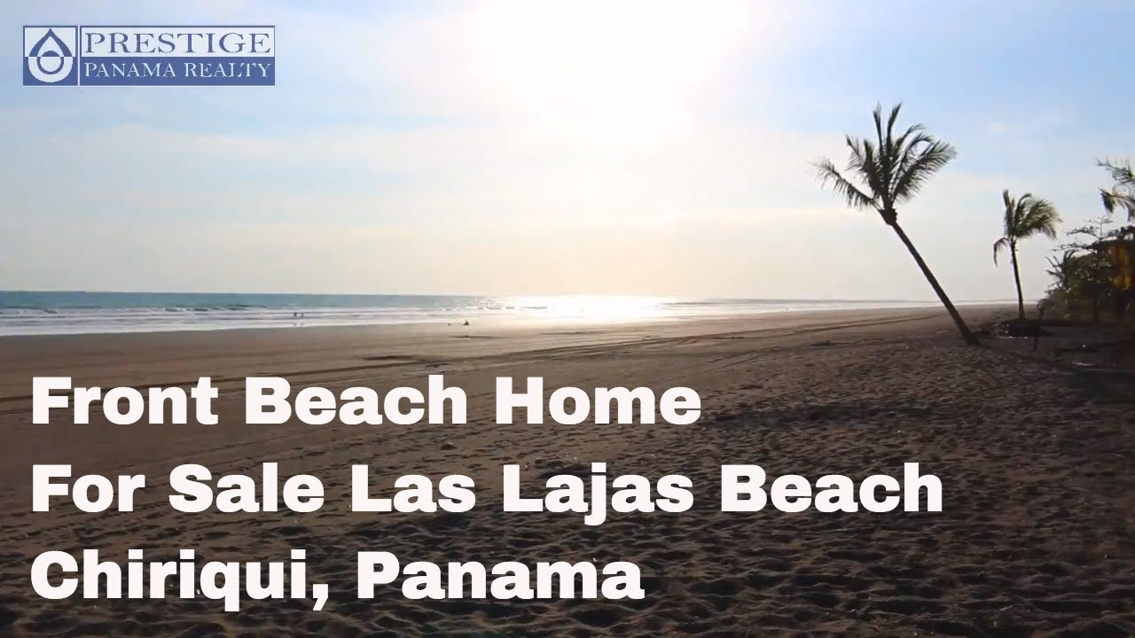 New Front Beach Home For At Las Lajas Chiriqui Panama Prestige Realty