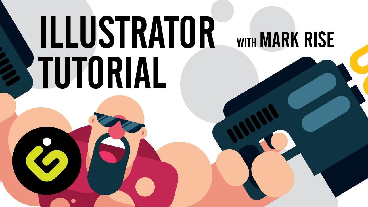 Flat Character Design Tutorial : Adobe illustrator tutorial flat character with mark rise