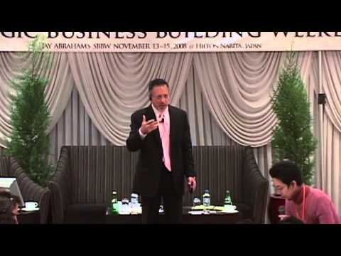 Jay Abraham Joint Venture   Jay On Making a million dollars with no capital