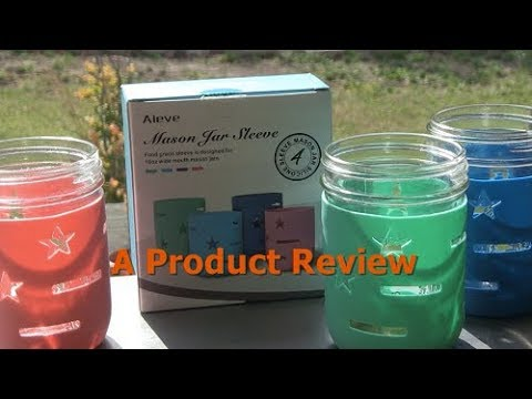 HOMESTEAD PRODUCT REVIEW - Aieve Mason Jar Sleeve