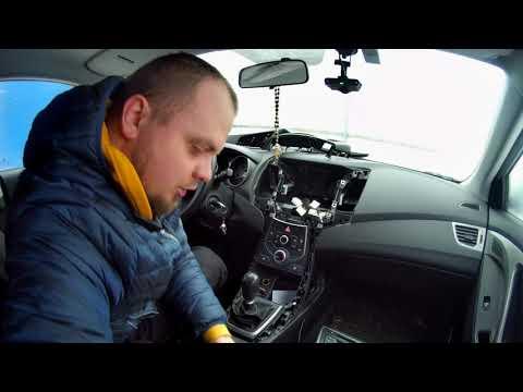 как подключить микрофон к магнитоле с блютуз Hyundai Elntra MD и подключить камеру