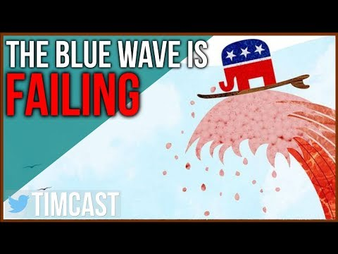 Democrat Blue Wave Is Failing, Republicans Gain In Midterm Polls