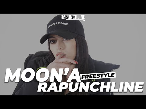 Youtube: MOON'A – Freestyle Rapunchline