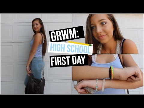 Get Ready With Me: First Day of Sophomore Year!!