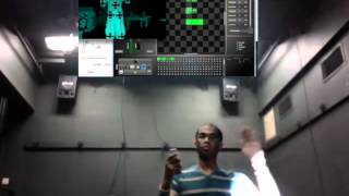 kinect and wii to dmx automated lighting fixture